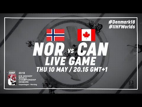 Norway - Canada | Full Game | 2018 IIHF Ice Hockey World Championship
