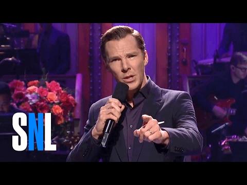 Benedict Cumberbatch Monologue  SNL