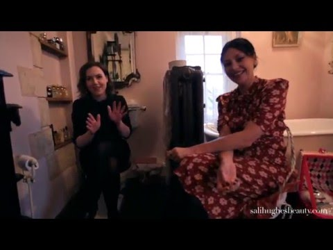 Sali Hughes:  In The Bathroom with Pearl Lowe part 1