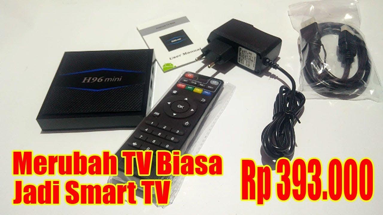 Android TV Box Murah H96 Mini - Merubah TV Biasa Jadi ...
