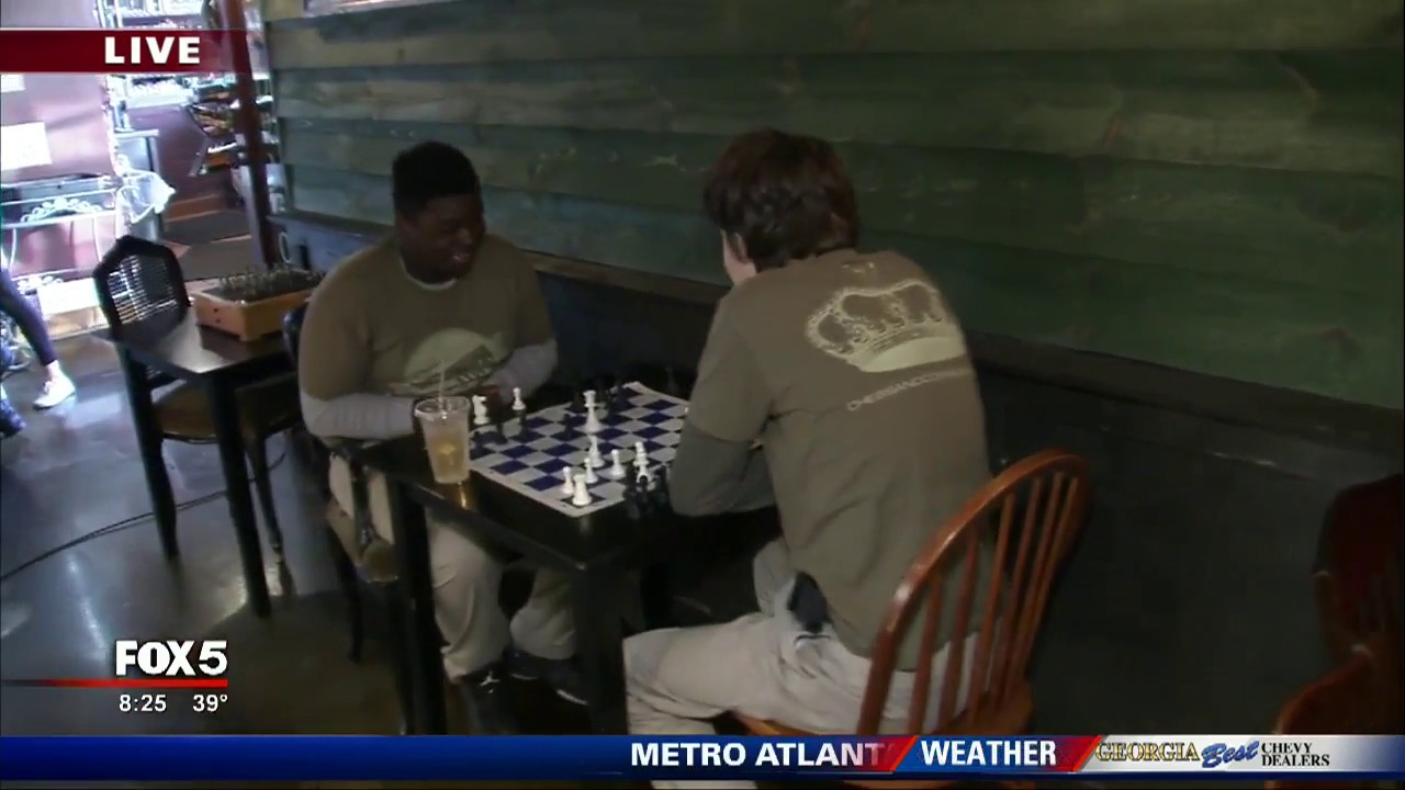 Harry Potter Wizard's Chess comes to life in Athens