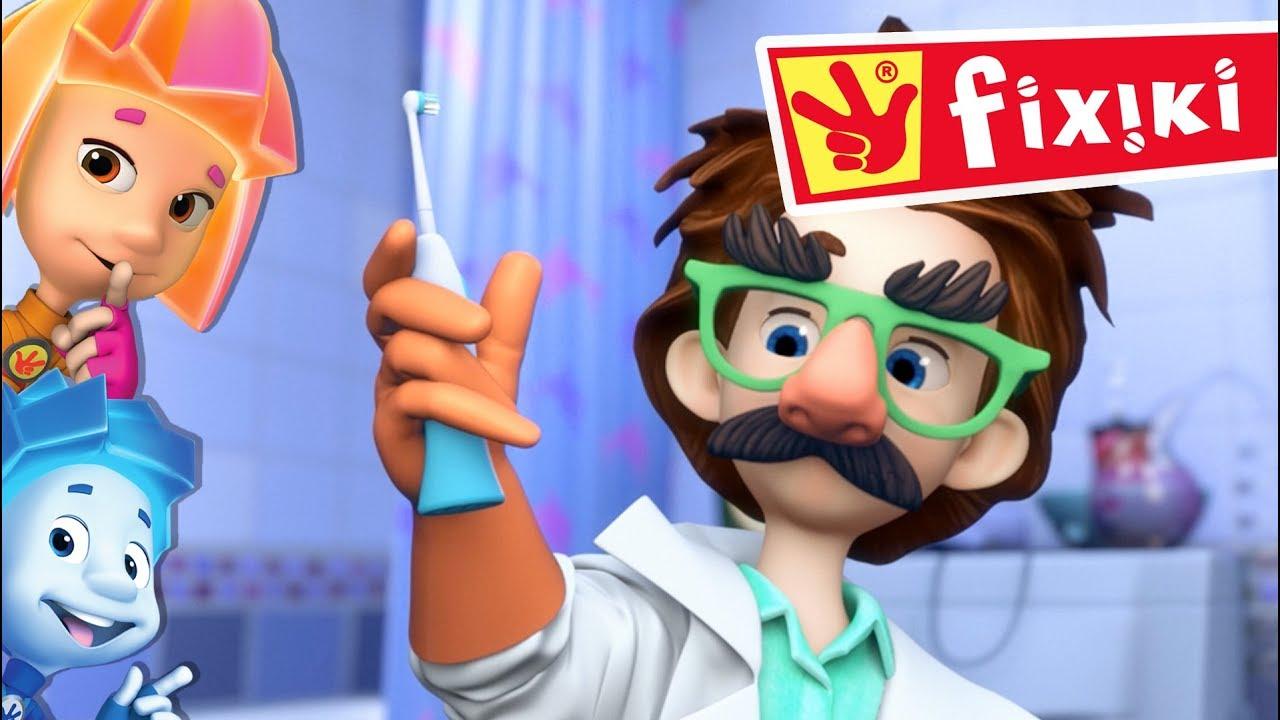 FIXIKI - Periuța de dinți (Ep. 12)   Desene animate copii