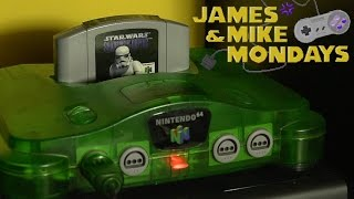 Star Wars: Shadows of the Empire (N64) Part 2 - James & Mike Mondays