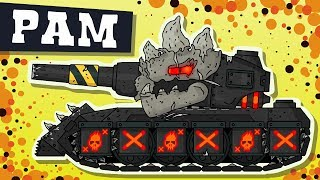 Ram the Destroyer. Cartoons about tanks