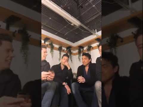 IL DIVO Live Chat -Other Point of View- Helsinki 30-10-2018