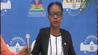 La porte-parole de la présidence, Tamara Orion intervient sur la loi de finances 2017-2018