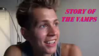 The story of how The Vamps were created by James McVey
