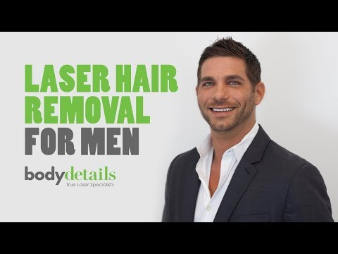 Laser Hair Removal for Men | Body Details