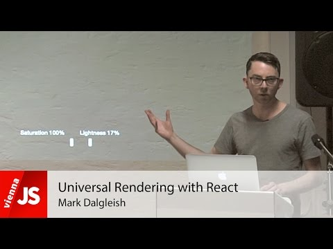 Universal Rendering with React