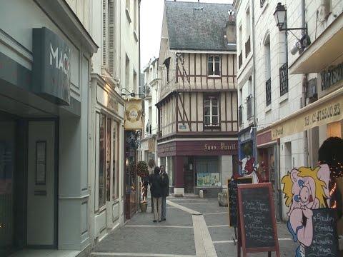 Chinon, Loire, France travel video