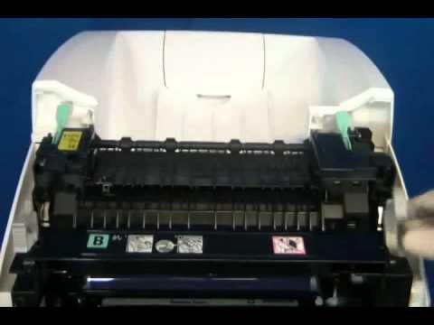 "Xerox Phaser 6280 ""Fuser Error"" ""Fuser Life"" or ""Replace Fuser"" Repair"