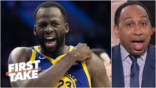 Draymond Green, NBA stars can't have everything they want – Stephen A. | First Take