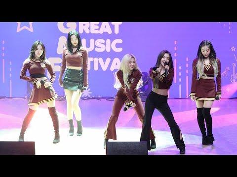 181026 레드벨벳(Red Velvet) Power Up + Red Flavor (파워업 + 빨간맛) 그레이트뮤직페스티벌] 4K 직캠 By 비몽