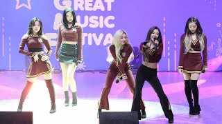 Gambar cover 181026 레드벨벳(Red Velvet) Power Up + Red Flavor (파워업 + 빨간맛) 그레이트뮤직페스티벌] 4K 직캠 by 비몽