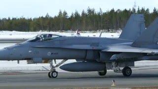 Vihuri 2016 at EFOU - Finnish Air Force military training