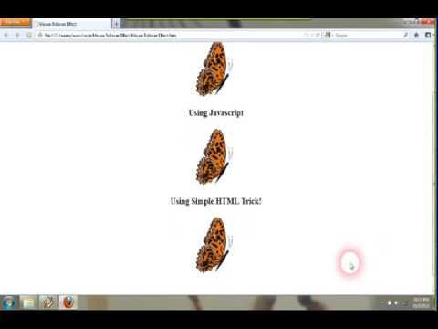 JavaScript Image Rollover, Html Css Image Rollover, Mouse Rollover Image Effects