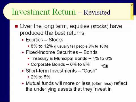 BUS123 Chapter 01 - Risk versus Return - Slides 35 to 54 - Fall 2017