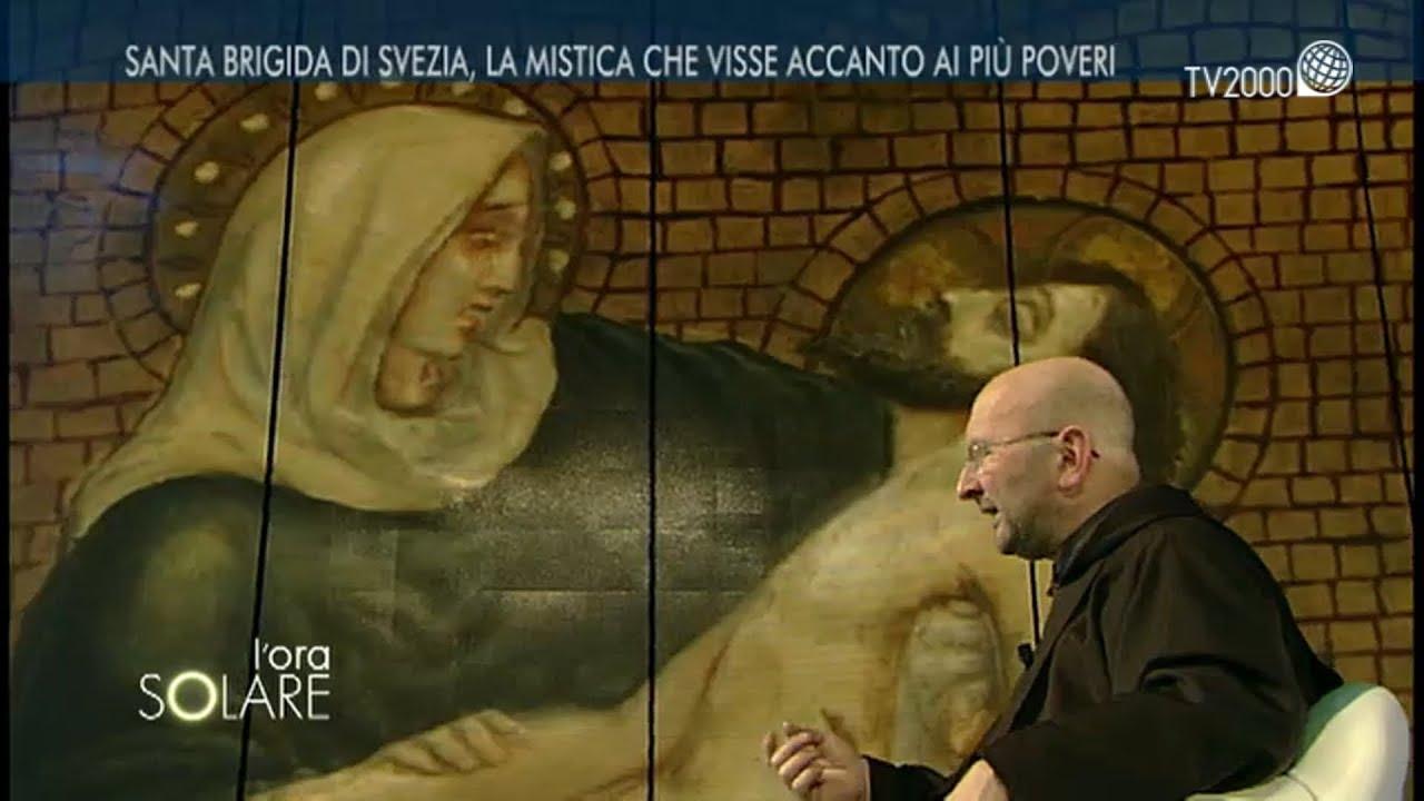 Padre Gianluigi Pasquale ci racconta Santa Brigida di Svezia - YouTube