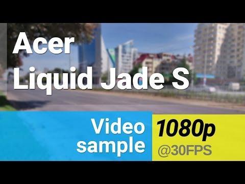 Acer Liquid Jade S 1080p video sample