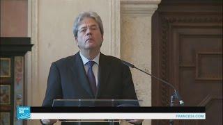 رئيس جديد للحكومة الإيطالية