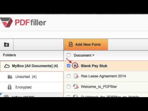 How to Create a Fillable Document Template on PDFfiller