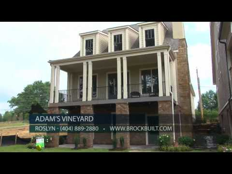 New Homes In Norcross GA - Adam's Vineyard By Brock Built