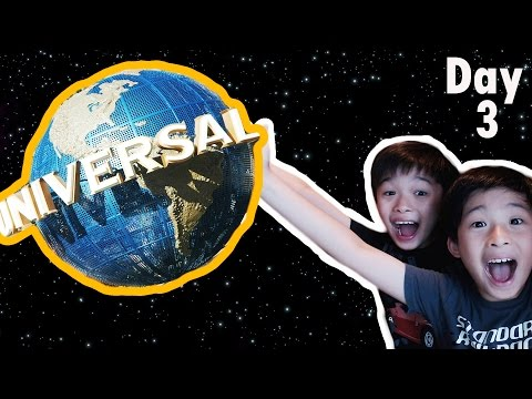 "WE""RE IN UNIVERSAL STUDIOS!!! 