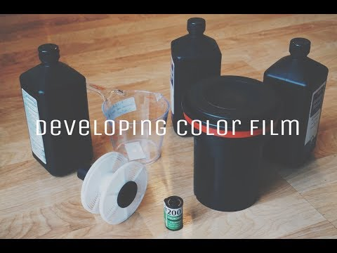 My First Time Developing Color Film!