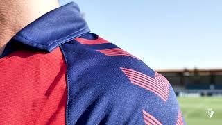 Primera equipación del C. A. Osasuna para la temporada 2019/20