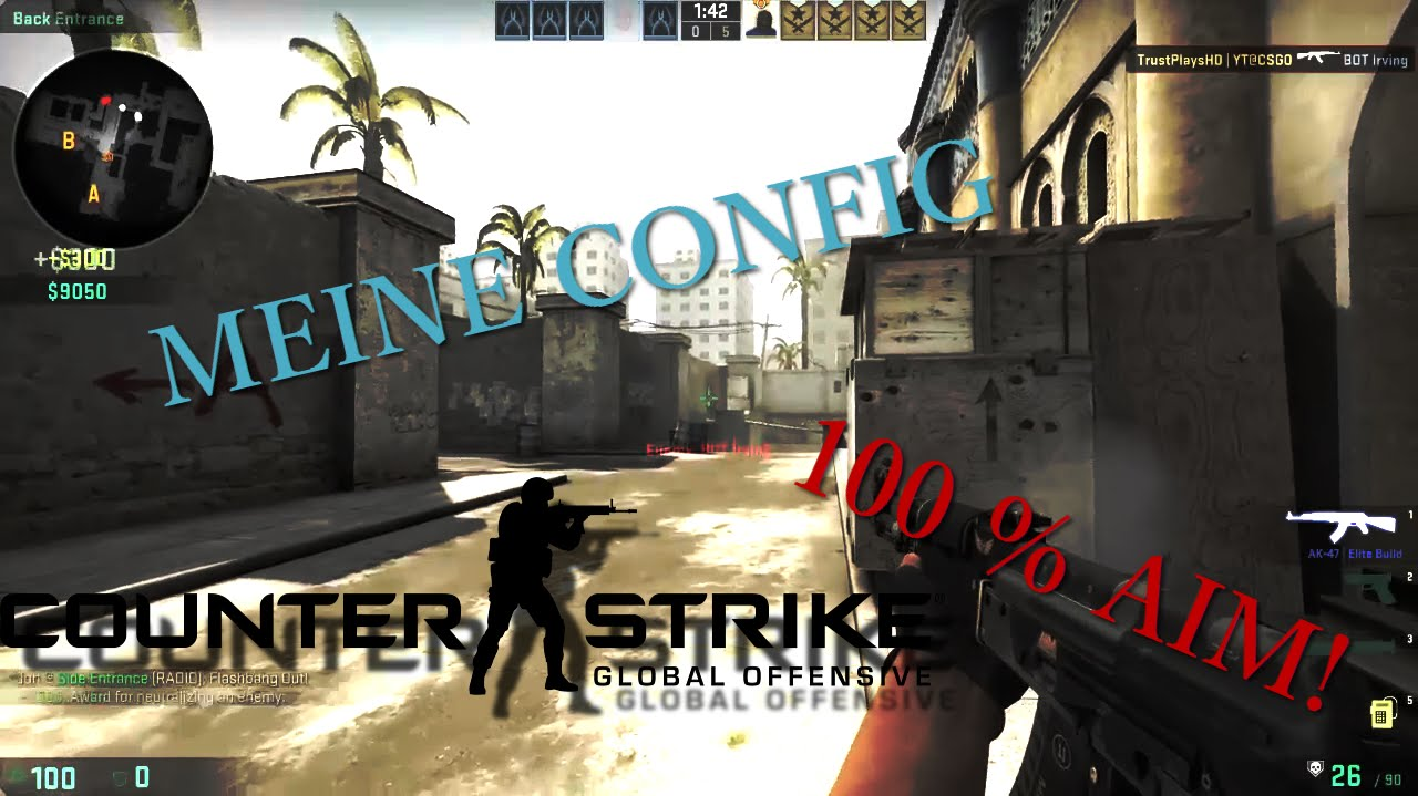 how to make a practice config cs go