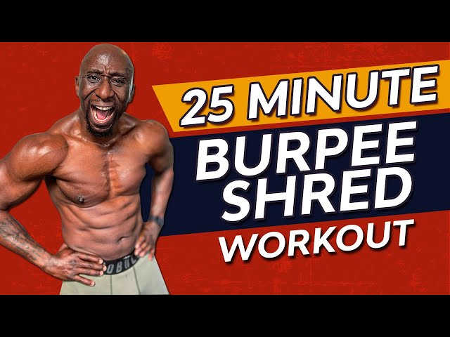 The Ultimate Burpee Workout Challenge - Burn Fat/Build Muscle/Get Ripped