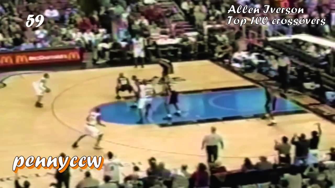 Allen Iverson Top 100 Crossover Only Best