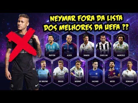 TODE NEWS l NEYMAR FORA A LISTA DOS 11 MELHORES DA UEFA ! HAZARD ACERTA SALÁRIO COM REAL