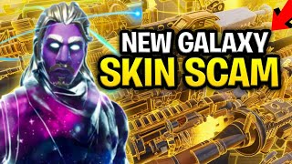 *NEW SCAM* THE GALAXY SKIN TRADING SCAM! (Scammer Gets Scammed) Fortnite Save The World