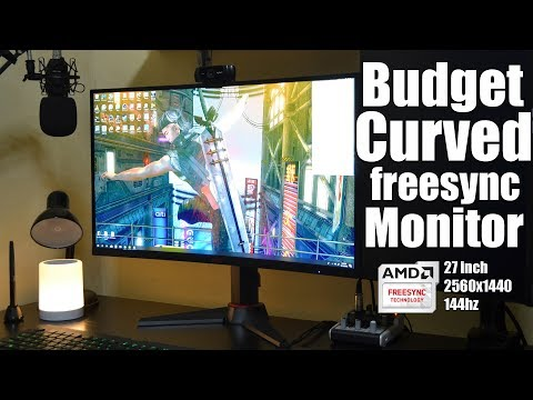 HKC M27G1Q 1440p 144hz Freesync (Budget Freesync monitor)