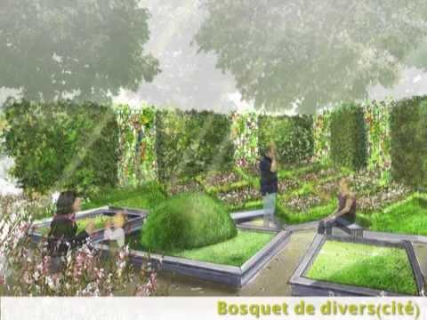 le bureau d 39 etude des jardins de gally youtube. Black Bedroom Furniture Sets. Home Design Ideas