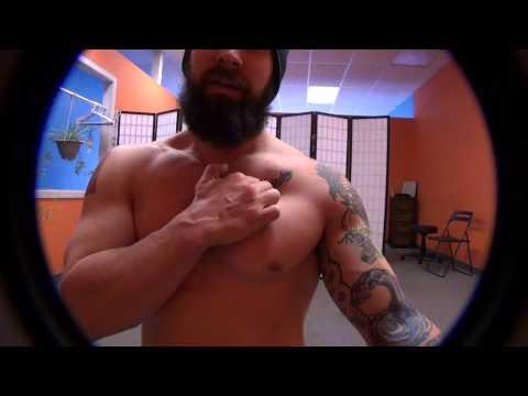 Joe Daniels  Pec Muscle Flex and Release