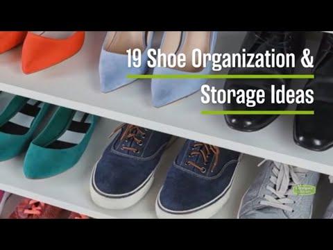 19 Shoe Storage & Organization Ideas