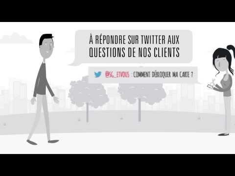 Société Générale:  Twitter campaign