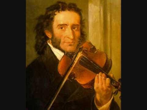 Concierto de violín Paganini