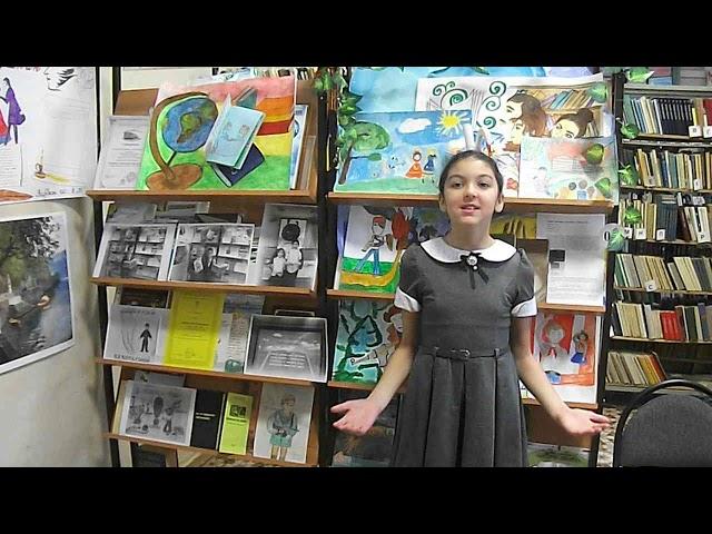Изображение предпросмотра прочтения – АнгелинаМинибаева читает произведение «Красною кистью...» М.И.Цветаевой