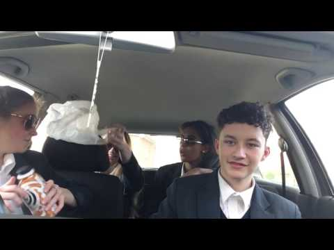 Four of diamonds carpool karaoke 💎💎💎💎~who are you by Bradley,olga,lucy and aisha