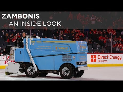 An inside look at the world of Zambonis