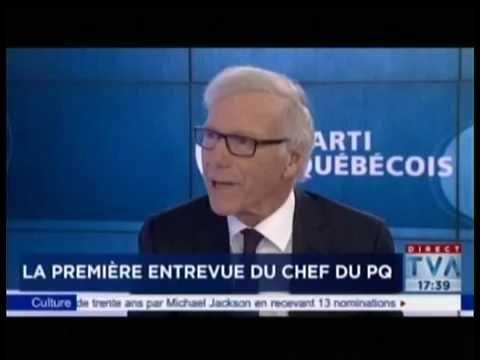 La première entrevue du Chef de l'opposition officielle Jean-François Lisée