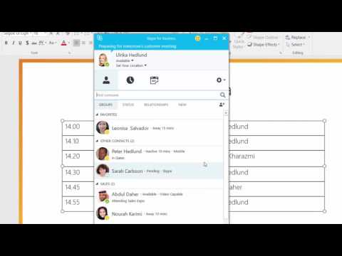 How to connect with external Skype users