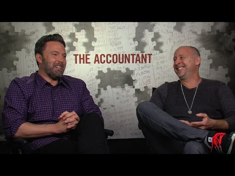 THE ACCOUNTANT Interviews: Ben Affleck, JK Simmons And Director Gavin O'Connor