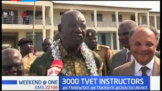 3000 TVET Instructors: National Government to hire more tutors in 2020