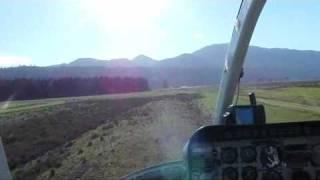 Bell Jetranger Ag Spraying - West Coast New Zealand
