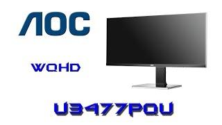 test monitora ips 34 aoc u3477pqu duże jest piękne