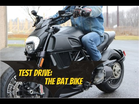 2015 Ducati diavel Test Drive (The Bat Bike)
